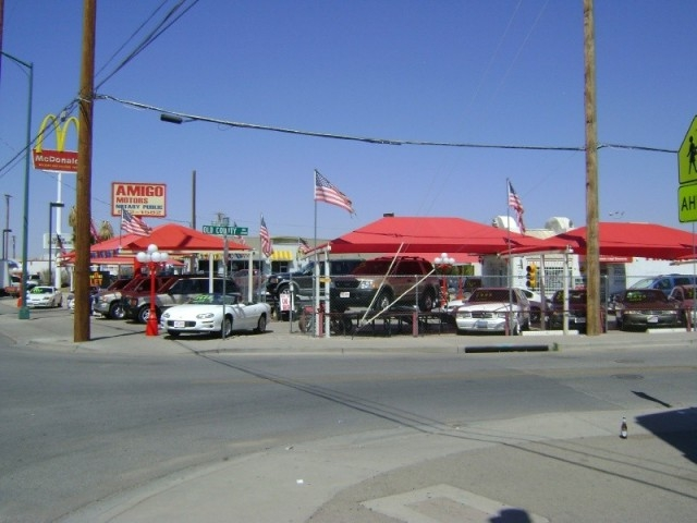 amigo motors auto dealership in el paso texas home page