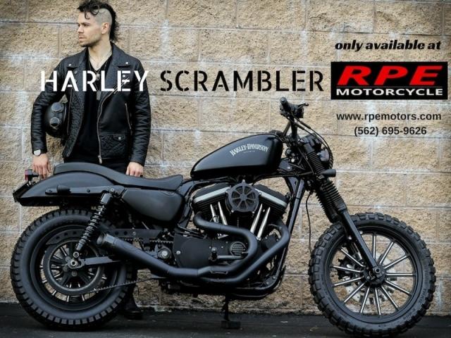 2012 Harley-Davidson SCRAMBLER