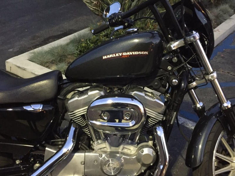 Harley xl883 club style inventory rpe motorcycle for Valley view motors whittier ca