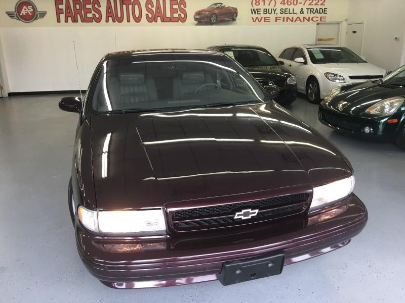 1996 Chevrolet Caprice Classic/Impala SS/Caprice Police/Taxi Pkgs ...
