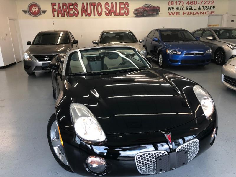 Pontiac Solstice 2007 price $8,998