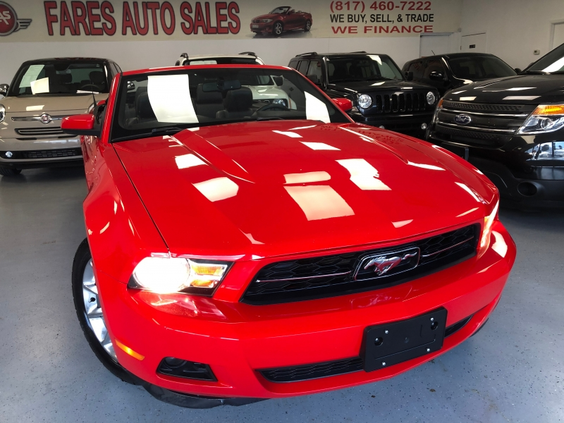 Ford Mustang 2011 price $6,850