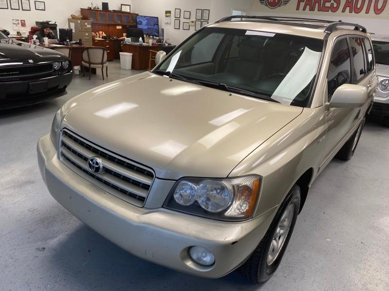 Toyota Highlander 2001 price $4,500