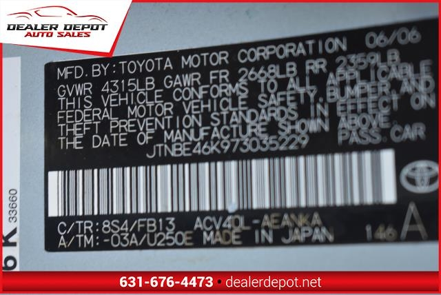 Toyota Camry 2007 price $7,990
