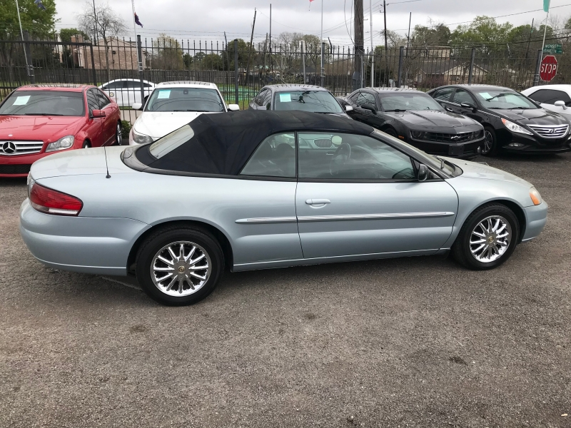 Chrysler Sebring 2003 price $4,750