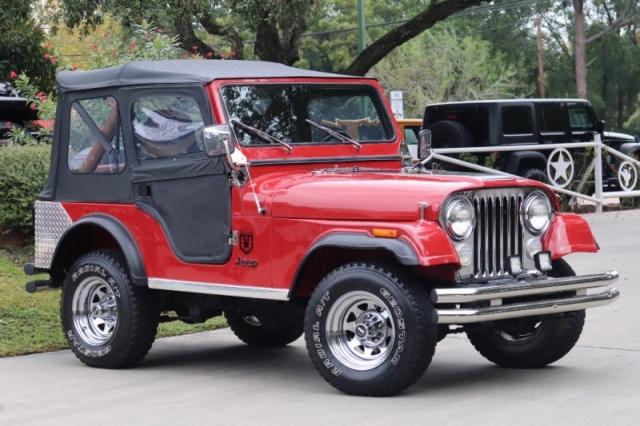 1982 Jeep CJ 4WD