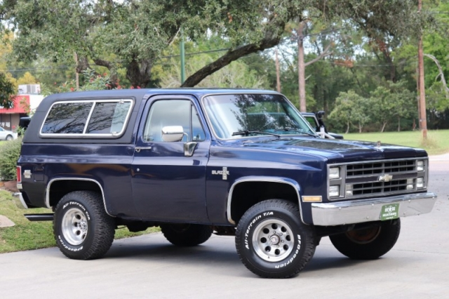 1986 Chevrolet K5 Blazer 4WD - Inventory - Select Jeeps Inc - Jeep