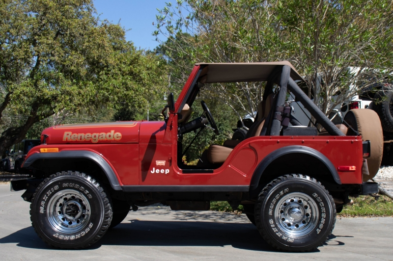 Vehicle Trade In Value >> 1987 Jeep CJ5 Renegade - Inventory - Select Jeeps Inc ...
