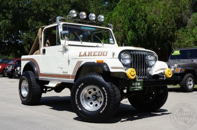 1985 Jeep Cj7 Laredo Inventory Select Jeeps Inc Jeep