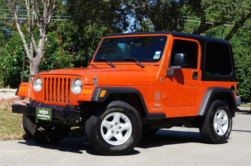 2006 jeep wrangler 2dr x inventory select jeeps inc for Orange city motors inc