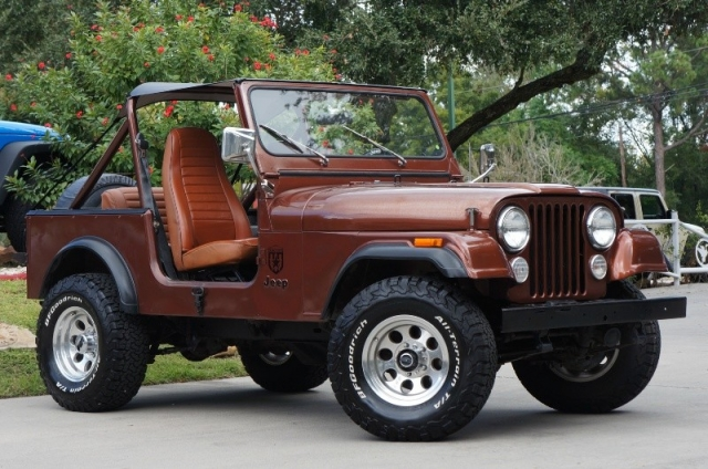 1984 Jeep CJ-7 4WD