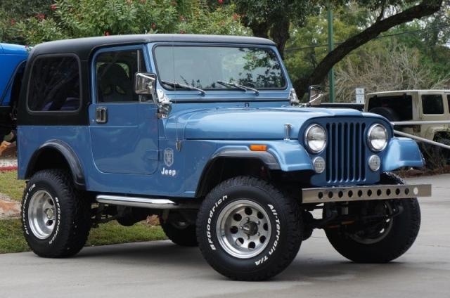 1984 Jeep CJ-7 4WD