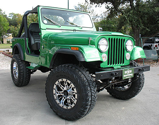 Select jeeps inc jeep wranglers in league city texas for Cj custom homes