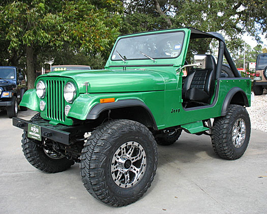 Inventory select jeeps inc jeep wranglers in league for Cj custom homes