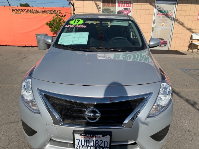 Nissan Versa Sedan 2017 price $10,977