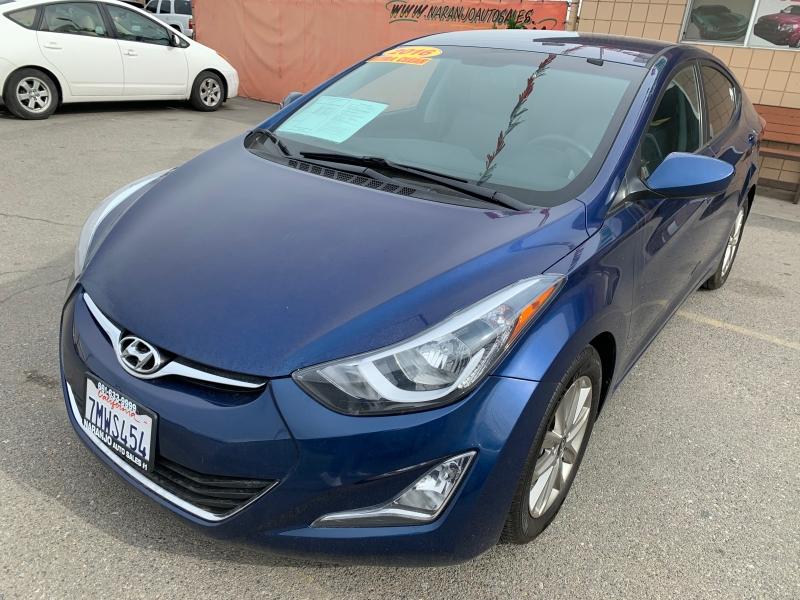Hyundai Elantra 2016 price $11,997
