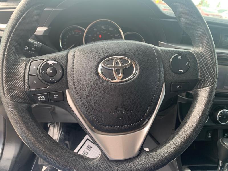 Toyota Corolla 2016 price $12,998