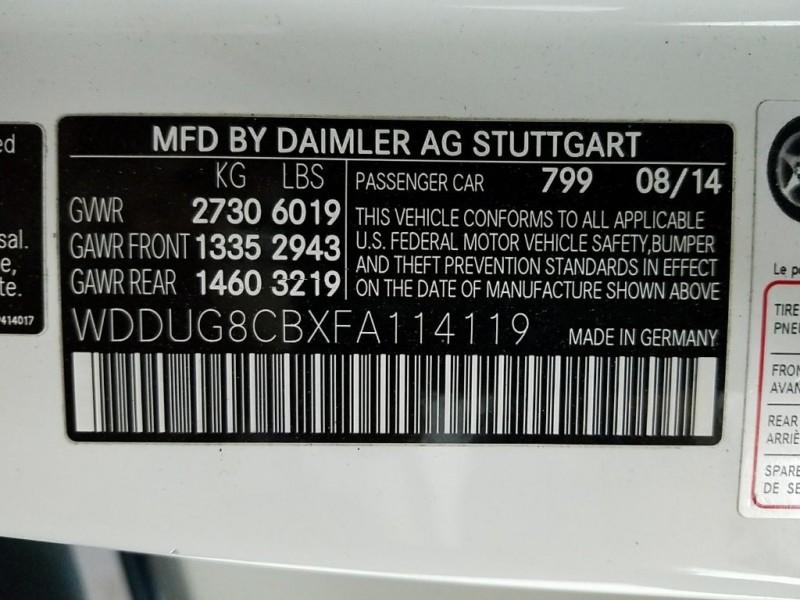 Mercedes-Benz S-Class 2015 price $59,995