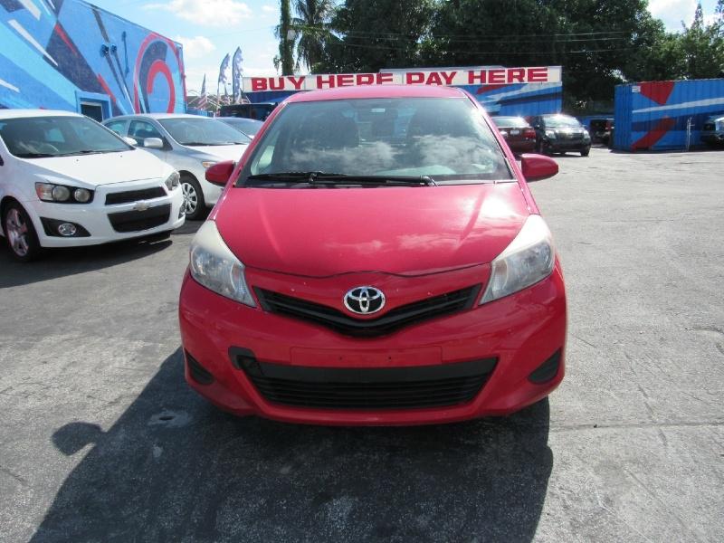Toyota Yaris 2013 price $7,250