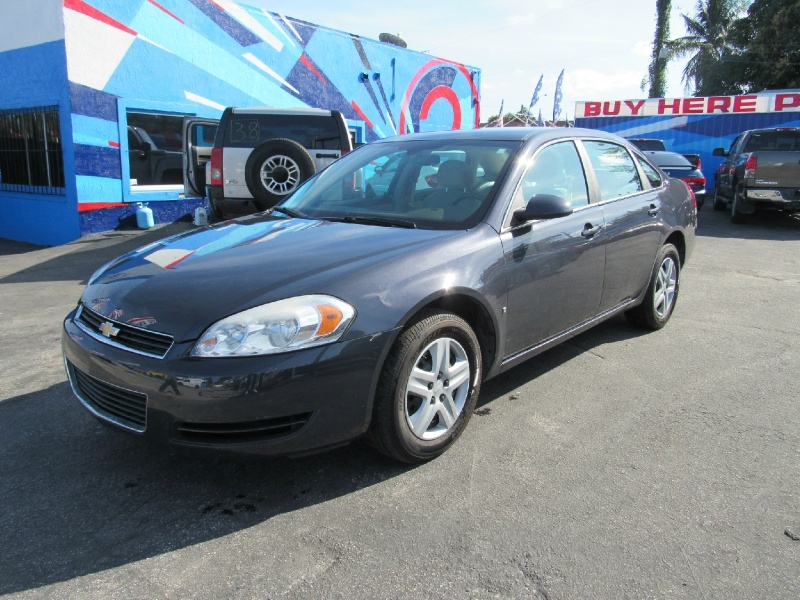 Chevrolet Impala 2008 price $5,200