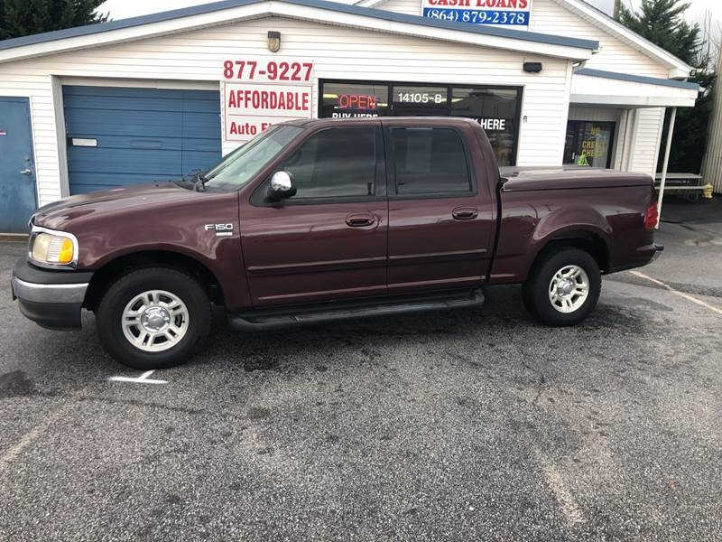 FORD F150 2001 price $8,495
