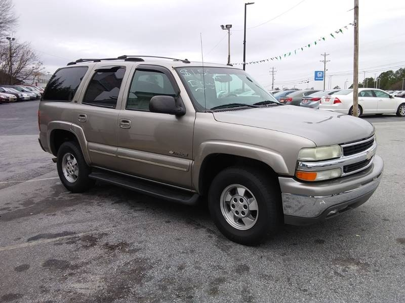 CHEVROLET TAHOE 2003 price