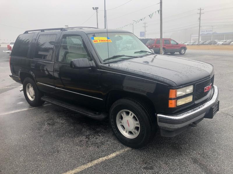 GMC Yukon 1996 price