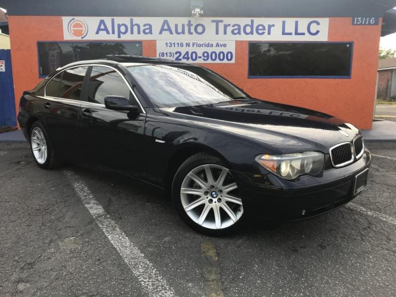 2004 BMW 7 Series 745i 4dr Sdn - Inventory | Alpha Auto Trader LLC ...