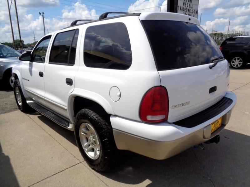Dodge Durango 2001 price $2,495