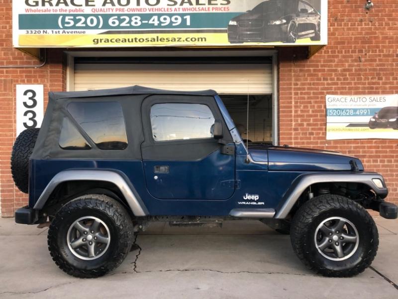 Jeep Wrangler 2004 price $11,000