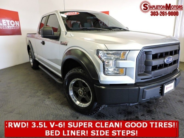 2015 FORD F150 2WD