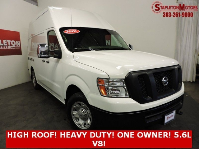2016 NISSAN NV HIGH ROOF