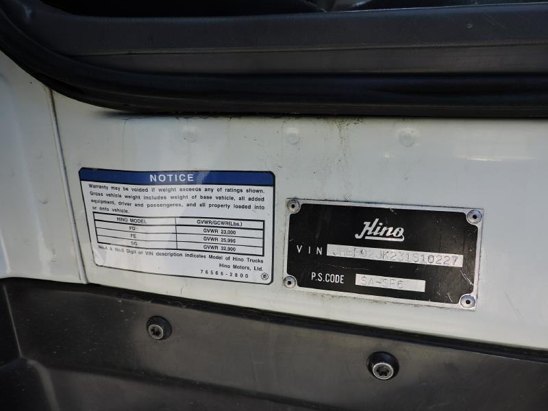 HINO FD 2003 price $15,499