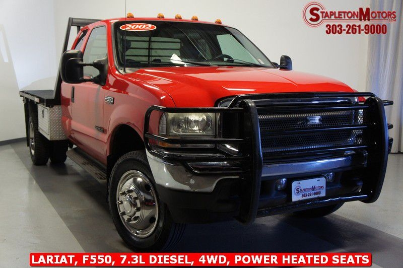 FORD F550 2002 price $22,799