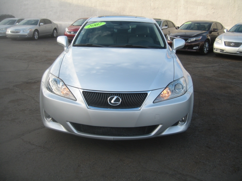 Lexus IS 250 2007 price $7,999