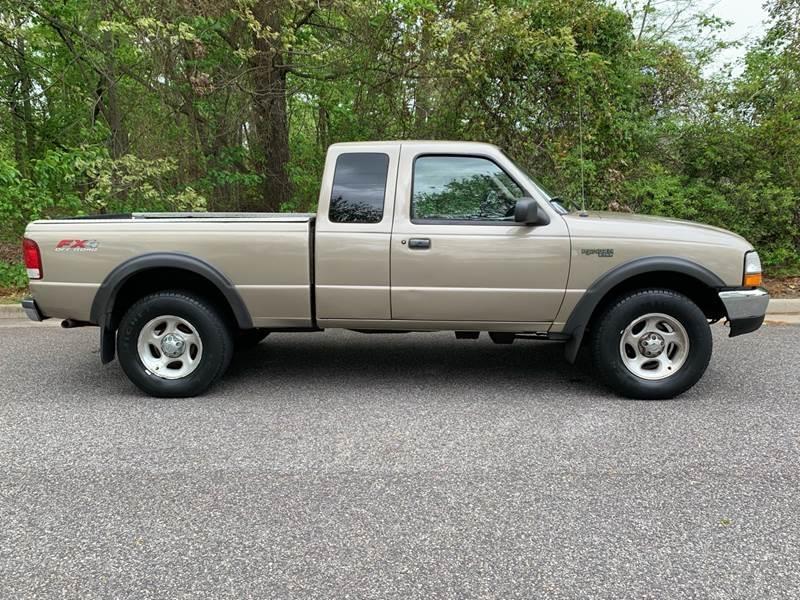 2000 Ford Ranger Xlt 2dr 4wd Extended Cab Sb The Car Exchange