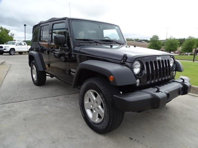 Jeep Wrangler Unlimited 2016 price $27,301