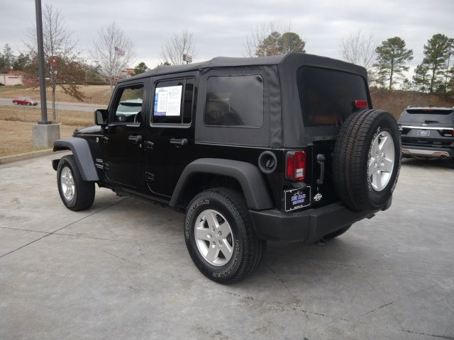 Jeep Wrangler Unlimited 2016 price $27,301