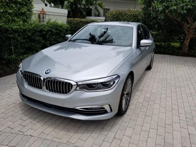 BMW 540I 2017 price $54,298