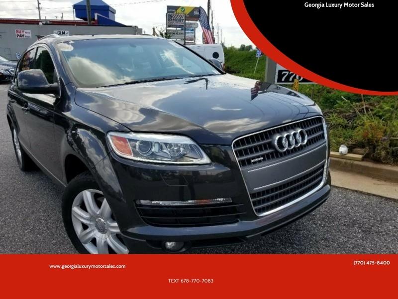 Audi Q7 2007 price $6,965