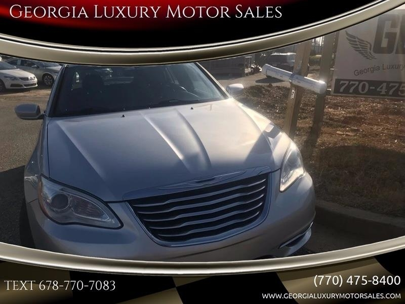 Chrysler 200 2012 price $4,295