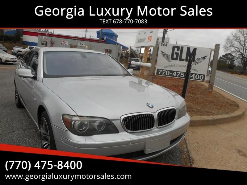 BMW 7 Series 2008 price $7,495