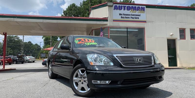 Lexus LS 430 2005 price $1,800 Down