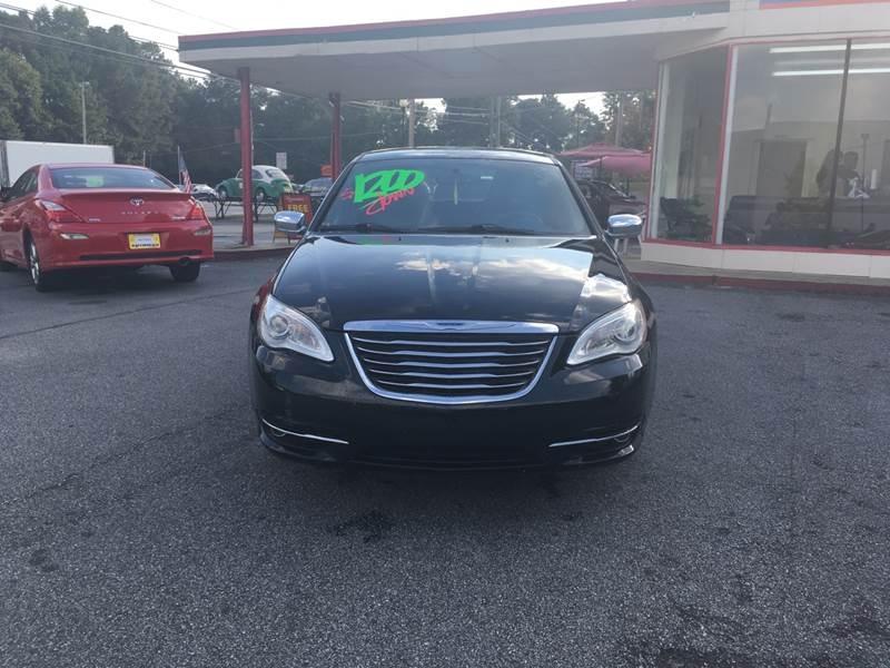 Chrysler 200 2012 price $1,200 Down