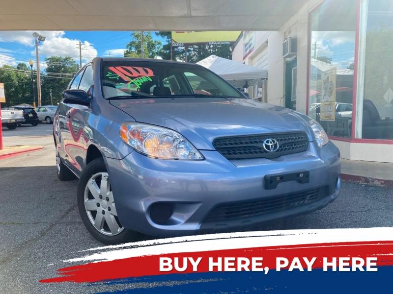 Toyota Matrix 2007 price Call for Pricing.