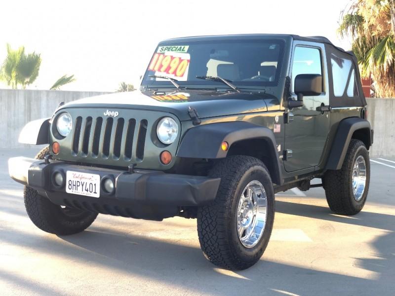 Jeep Wrangler 2007 price $11,990