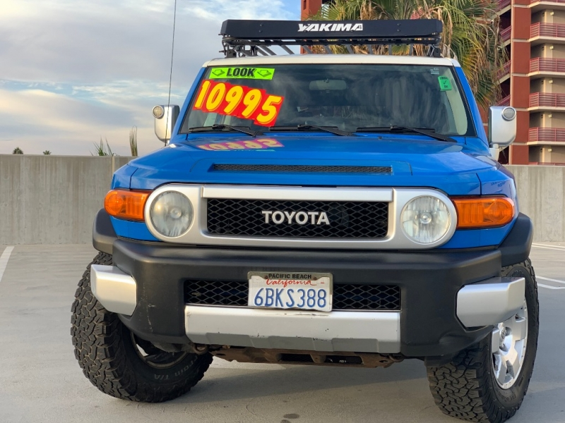 Toyota FJ Cruiser 2007 price $10,995