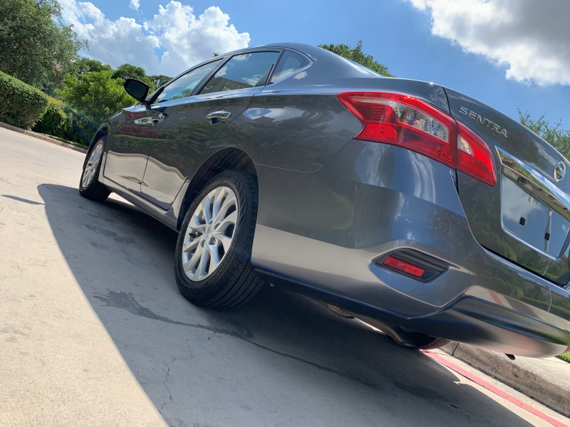 Nissan Sentra SV 2019 price $14,495