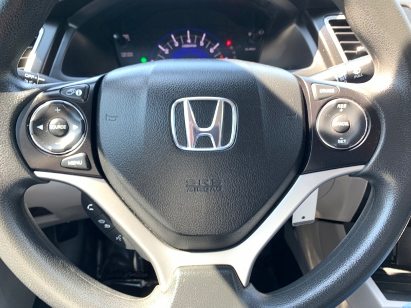 Honda Civic LX 2015 price $8,900