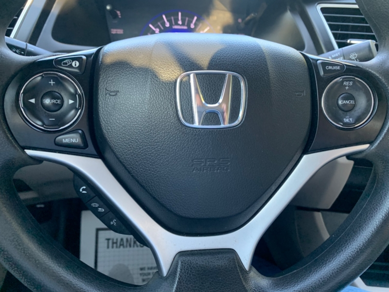 Honda Civic LX 2015 price $8,495
